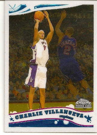 Charlie Villanueva 2005-06 Topps Chrome Rookie Card