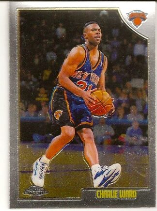 Charlie Ward 1998-99 Topps Chrome Basketball Card