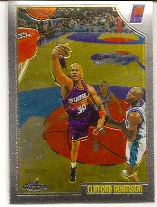 Clifford Robinson 1998-99 Topps Chrome Basketball Card