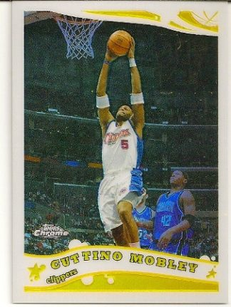 Cuttino Mobley 2005-06 Topps Chrome Refractor Card