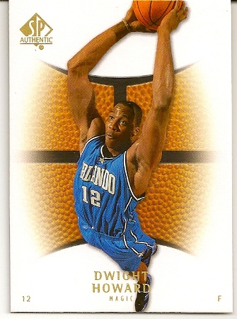 Dwight Howard 2007-08 Upper Deck SP Authentic Basketball Card