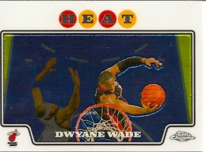 Dwyane Wade 2008-09 Topps Chrome Basketball Card