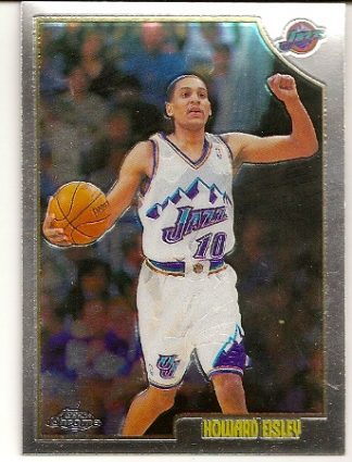 Howard Eisley 1998-99 Topps Chrome Basketball Card