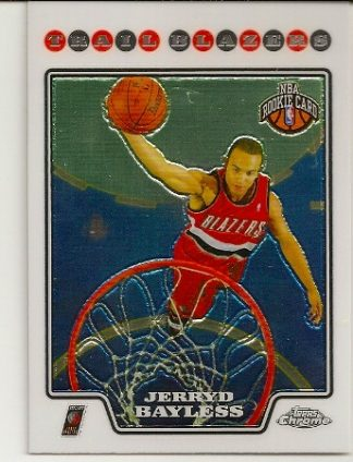 Jerryd Bayless 2008-09 Topps Chrome Rookie Card