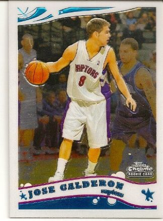 Jose Calderon 2005-06 Topps Chrome Rookie Card