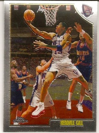 Kendall Gill 1998-99 Topps Chrome Basketball Card