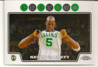 Kevin Garnett 2008-09 Topps Chrome Basketball Card