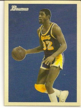 Magic Johnson 2009-10 Bowman '48 Basketball Card
