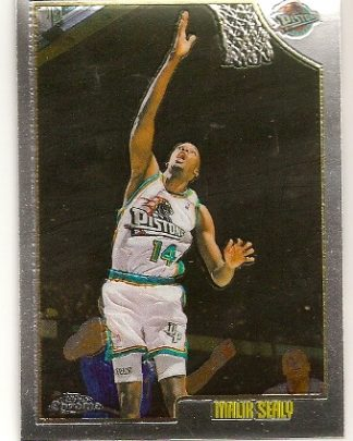 Malik Sealy 1998-99 Topps Chrome Basketball Card