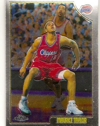 Maurice Taylor 1998-99 Topps Chrome Basketball Card