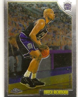 Mitch Richmond 1998-99 Topps Chrome Basketball Card