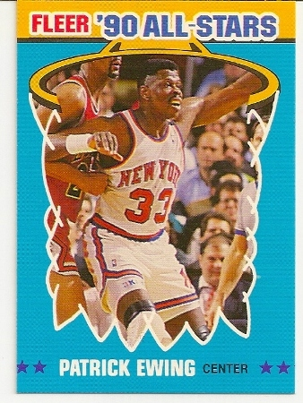 Patrick Ewing 1990-91 Fleer All-Star Basketball Card