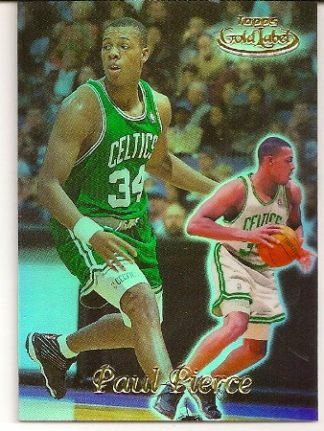 Paul Pierce 1999-00 Topps Label Class 1 Basketball Card