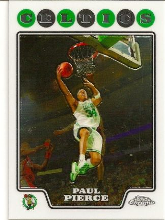 Paul Pierce 2008-09 Topps Chrome Basketball Card