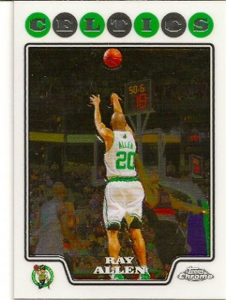 Ray Allen 2008-09 Topps Chrome Basketball Card