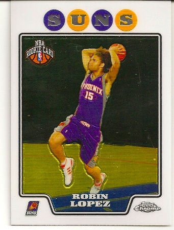Robin Lopez 2008-09 Topps Chrome Rookie Card