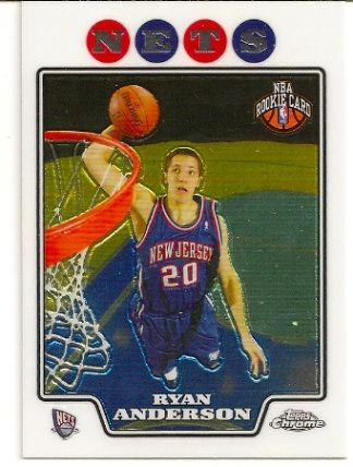 Ryan Anderson 2008-09 Topps Chrome Rookie Card
