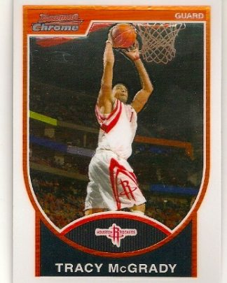 Tracy McGrady 2007-08 Bowman Chrome Basketball Card