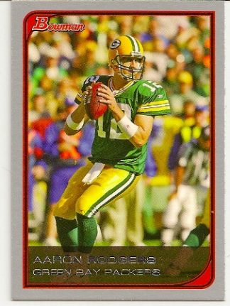 Aaron Rodgers 2006 Bowman Base Football Card