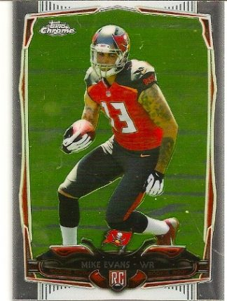 Mike Evans 2014 Topps Chrome Rookie Card