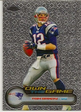 Tom Brady 2006 Topps Chrome Own The Game Insert Card