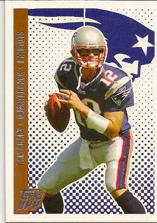 Tom Brady 2006 Topps DPP Football Card
