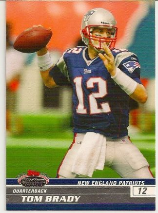 Tom Brady 2008 Topps Stadium Club Card