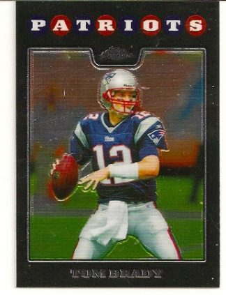 Tom Brady 2008 Topps Chrome Base Card