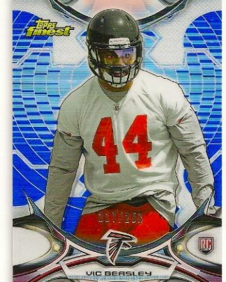 Vic Beasley 2015 Topps Finest Refractor Rookie Card