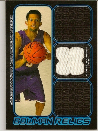 Jordan Farmar 2006-07 Bowman Relics Jersey Rookie Card - Basketball ... 225905393