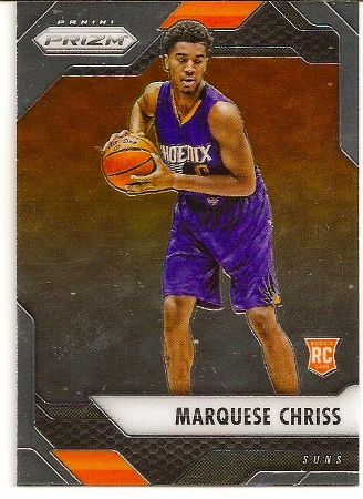 Marquese Chriss 2016-17 Panini Prizm Rookie Card