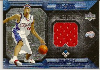 Shaun Livingston 2004-05 Upper Deck Black Diamond Jersey Rookie Card