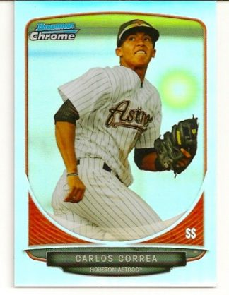 Carlos Correa 2013 Bowman Chrome Mini Refractor