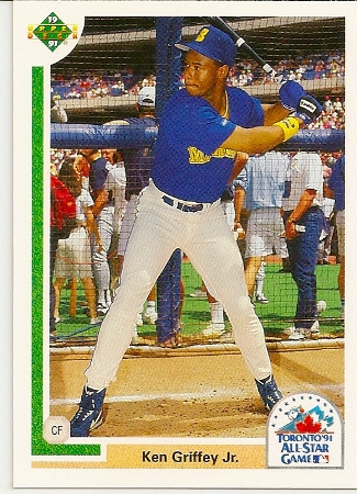 Ken Griffey Jr 1991 Upper Deck Final Edition All Star Baseball Card 87f