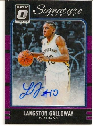 Langston Galloway 2016-17 Donruss Optic Signature Series RC  30 3d183093c