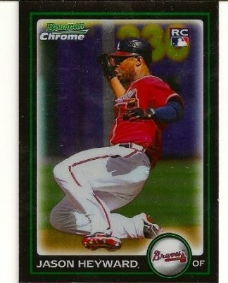 Jason Heyward 2010 Bowman Chrome Black Border Rookie Card