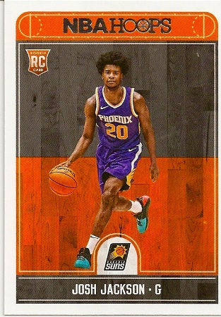 Josh Jackson 2017-18 NBA Hoops Rookie Card