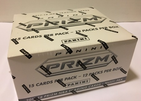 2017-18 panini prizm basketball box