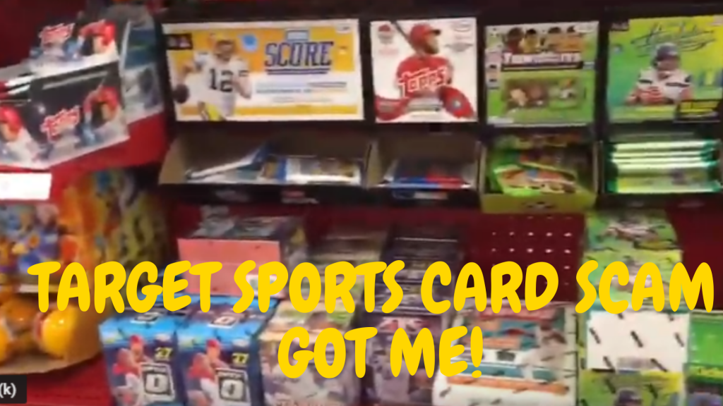 Target Sports Card Scam