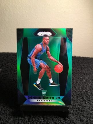 dennis-smith-jr--2017-18-panini-prizm-green-rookie-card