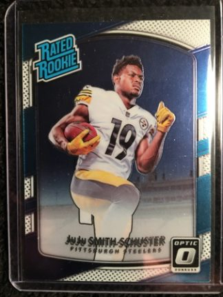 Juju Smith-Schuster 2017 Donruss Optic Rookie Card
