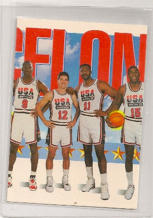 1991-92 Skybox USA Basketball Trading Card