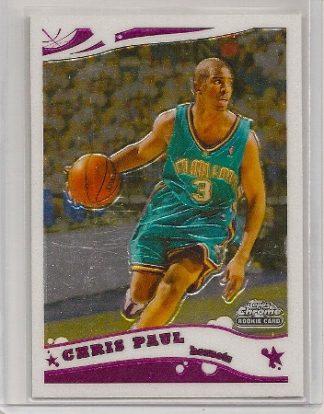Chris Paul 2005-06 Topps Chrome Rookie Card