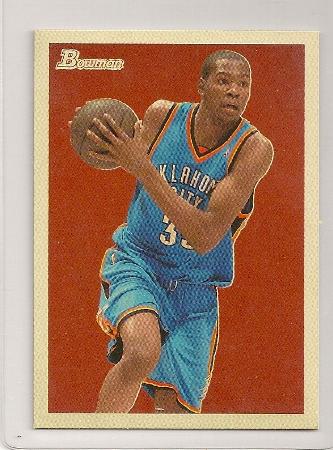 Kevin Durant 2009-10 Bowman '48 Basketball Trading Card