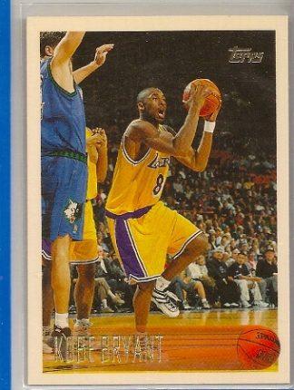 kobe bryant 1996-97 topps rookie card