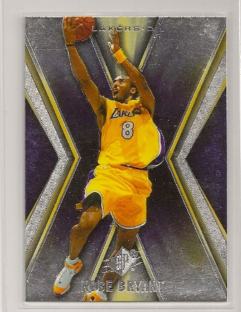 Kobe Bryant 2005-06 Upper Deck SPX Card