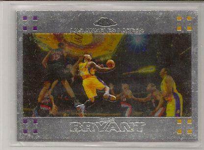 Kobe Bryant 2007-08 Topps Chrome Card