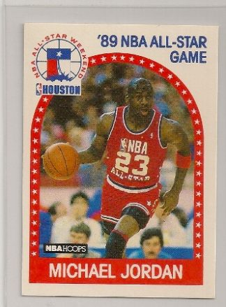 Michael Jordan 1989-90 Hoops All-Star Basketball Card