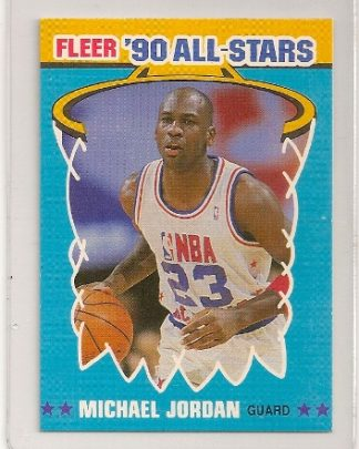Michael Jordan 1990-91 Fleer All-Star Basketball Card