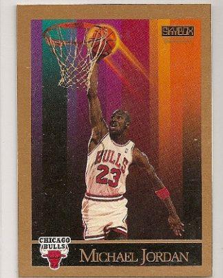 Michael Jordan 1990-91 Skybox Basketball Trading Card